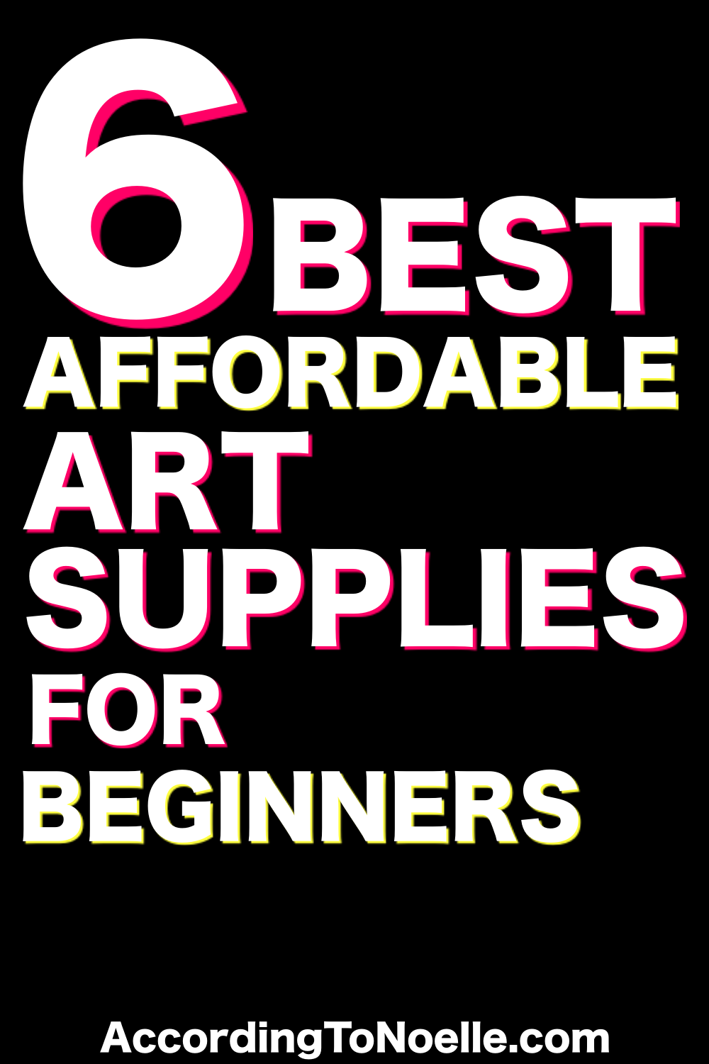 Best Affordable Art Supplies for Beginners